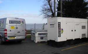 temporary generator power - powerhire