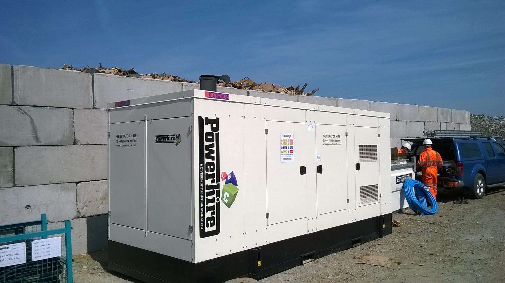Temporary Generator For Biomass Power Plant Powerhire