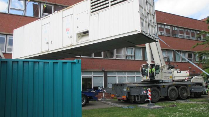 Rental Generators give Lifeline to London Hospital