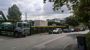 Temporary Generator Power at Wimbledon