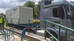 Temporary Generator Power on Standby
