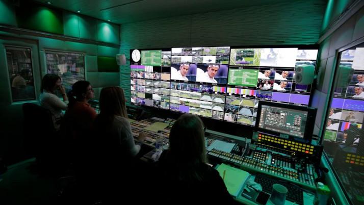 Temporary Generator Power at Wimbledon 2016