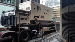 Temporary Generator Hire to Power City Bank's UPS