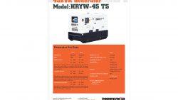 45kVA Generator Hire [Himoinsa Yanmar]