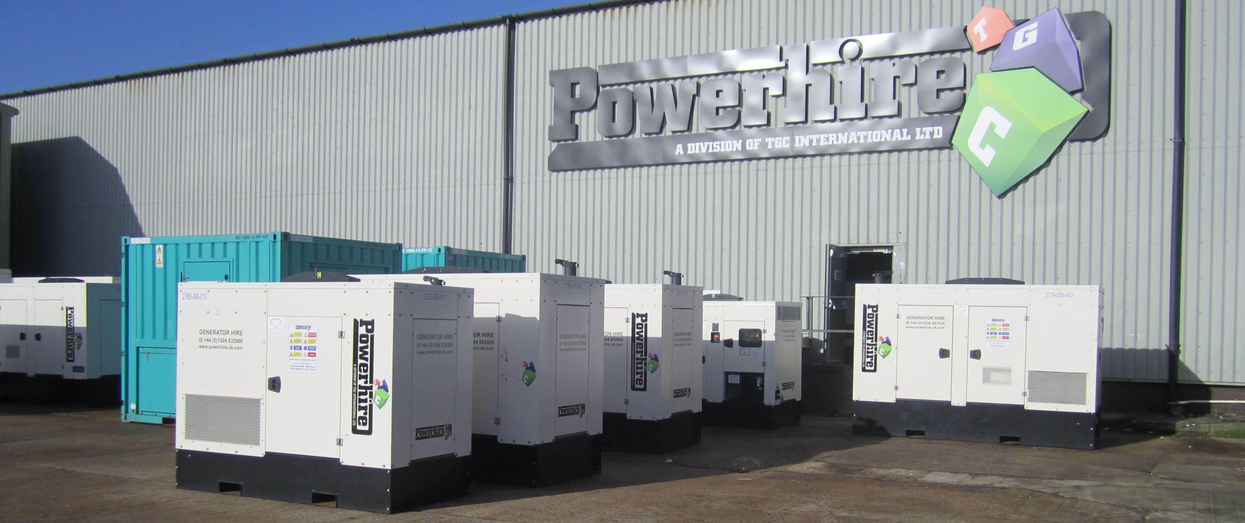 Rental-Generators