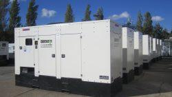 300kVA Prime Rated Generator powers LED billboard