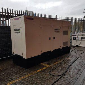 300kVA Generator Victoria Warehouse Manchester