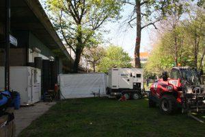 60kVA Rental Generator DIYSOS Grenfell Community
