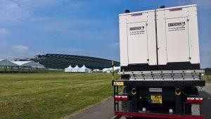 Royal Ascot 300kVA Event Generators